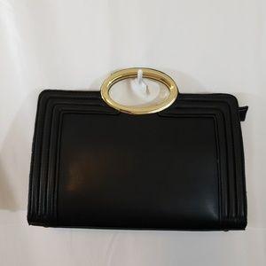 Black clutch bag NWT